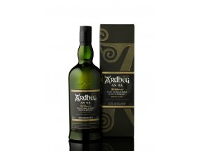 ardbeg an oa 0,7l bottle box