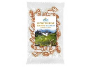Alpské bylinné se sladidlem 100 g