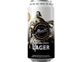 Albrecht Czech Lager 0,5l
