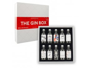The Gin Box World Tour Edition 42,9% 10 x 0,05l