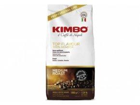 Kimbo Caffé Top Flavour Zrnková Káva 1 kg