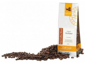 Cafe Cult Espresso Siciliano zrnková káva 250 g, sleva