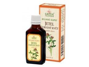 Grešík Jetel červený květ, bylinné kapky 50 ml