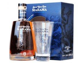 Marama Spiced Rum 40% 0,7l + sklenka