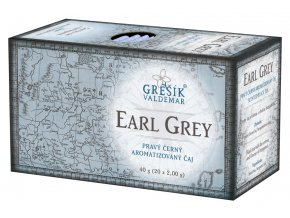 Earl Grey přebal Grešík Černý čaj