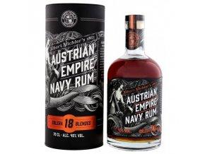 austrian empire solera navy rum 18 let 0 7l