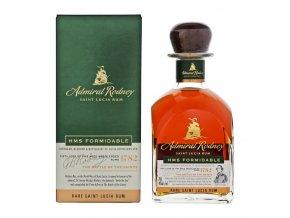 admiral rodney hms formidable rare rum 07l