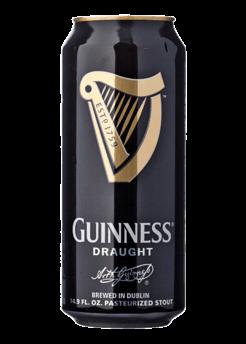 Guinness Stout Draught Plech 4,2% 0,44l + NAD 250 Kč ROZVOZ PRAHA ZDARMA