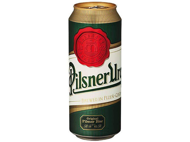 Pilsner Urquell 0,5l plech + NAD 250 Kč ROZVOZ PRAHA ZDARMA