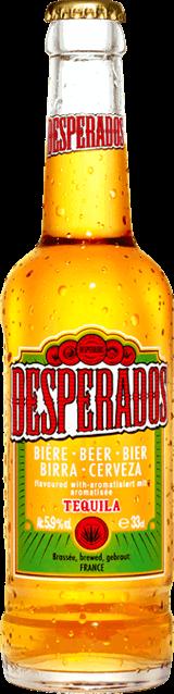 Desperados 5,9% 0,33l + NAD 250 Kč ROZVOZ PRAHA ZDARMA