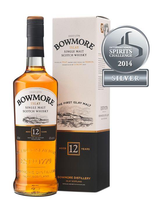 Bowmore 12 yo 40% 0,7l + ROZVOZ PRAHA ZDARMA