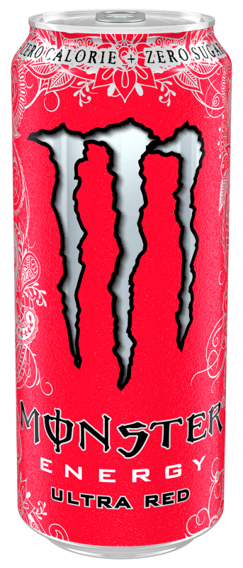 Monster Ultra Red 0,5l