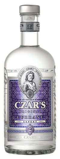 Carskaja vodka Vodka Czar's Original Currant 40% 0,7l