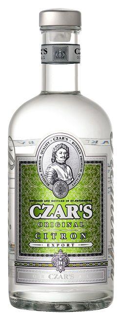 Levně Carskaja vodka Vodka Czar's Original Citron 40% 0,7l