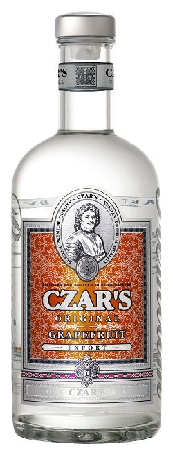 Carskaja vodka Vodka Czar's Original Grapefruit 40% 0,7l