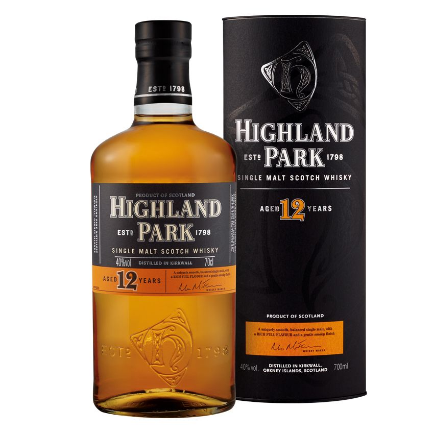 Highland Park 12 let 40% 0,7l + ROZVOZ PRAHA ZDARMA