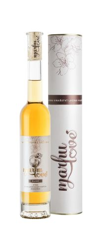 Vinařství Lacina Marhulové ovocné víno sladké 0,2l v dárkové tubě