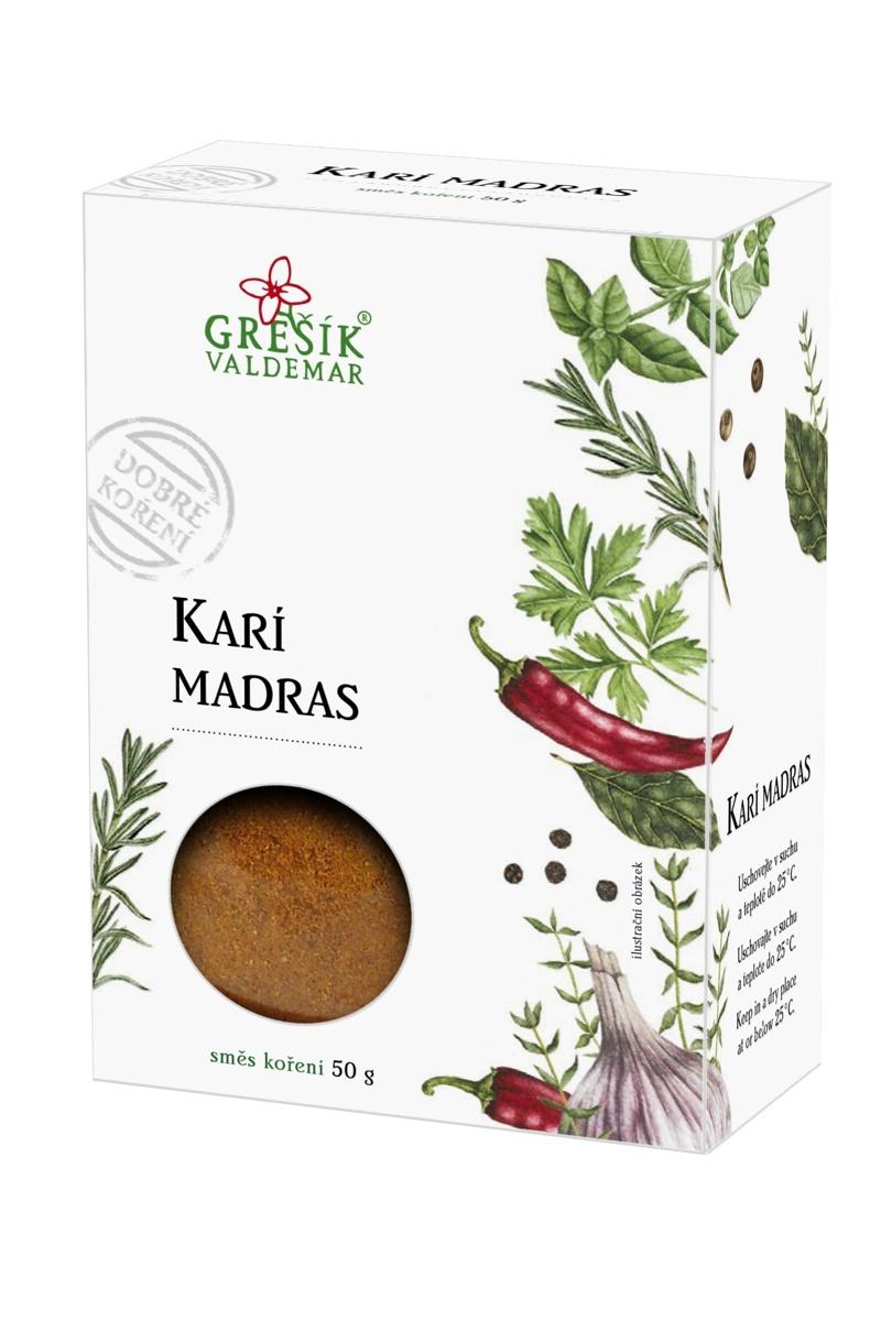 Grešík Karí Madras 30g