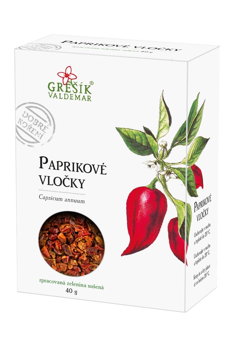 Valdemar Grešík Grešík Paprikové vločky 40g
