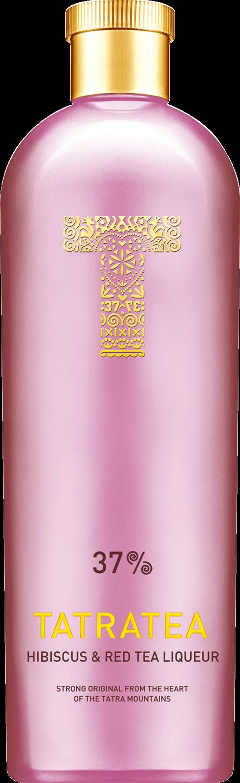 Tatratea Hibiscus & Red Tea 37% 0,7l + ROZVOZ PRAHA ZDARMA