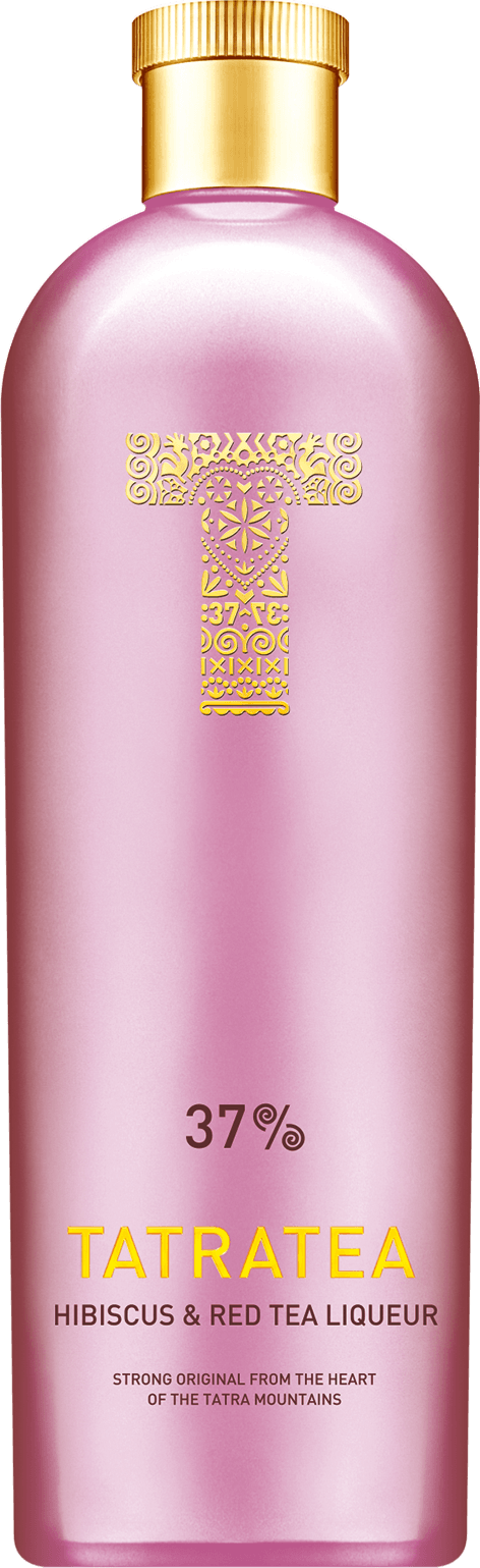 Tatratea Hibiscus & Red Tea 37% 0,7l