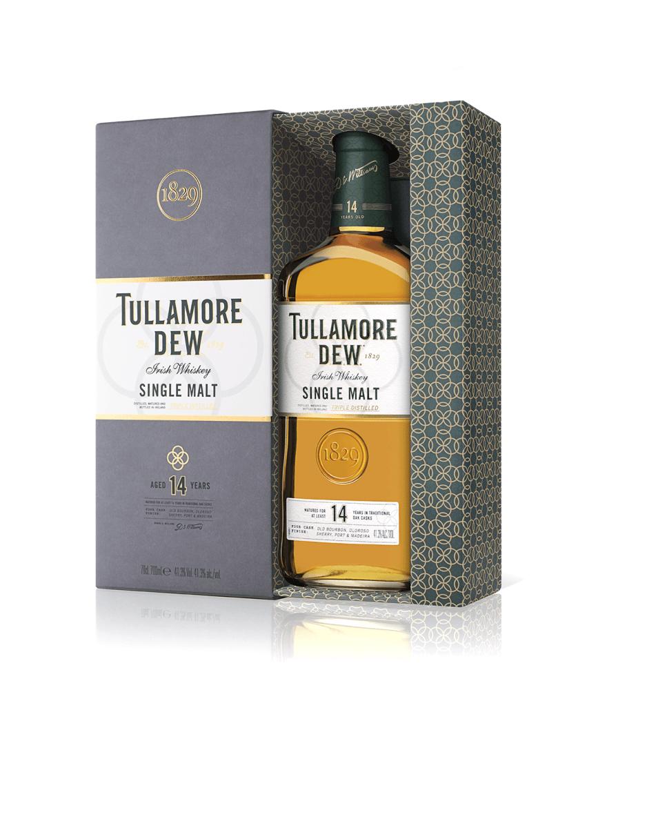 Tullamore D.E.W. Single Malt 14 YO 41,3% 0,7l + ROZVOZ PRAHA ZDARMA