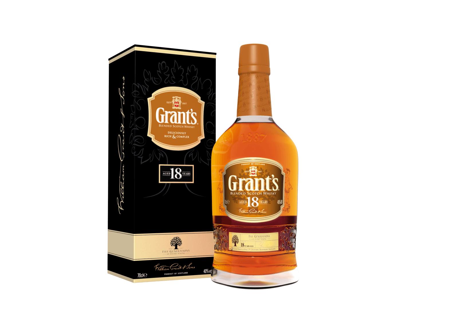 Grant's 18 YO 40% 0,7l + ROZVOZ PRAHA ZDARMA