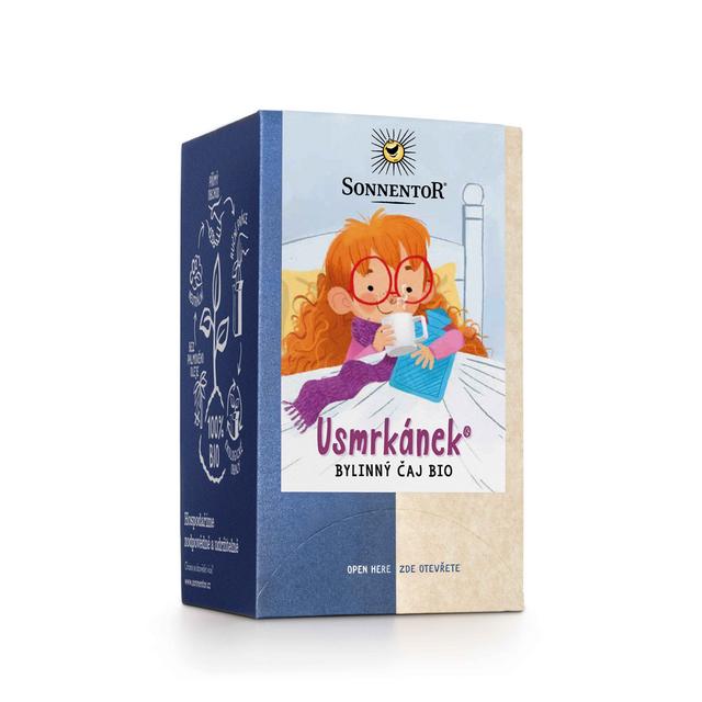 Biorarášci čaj - Usmrkánek 21,6 g BIO SONNENTOR