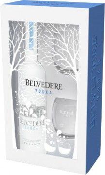 Belvedere 40% 0,7l dárkové balení se skleničkami + ROZVOZ PRAHA ZDARMA
