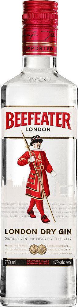 Beefeater Gin 40% 1l + ROZVOZ PRAHA ZDARMA