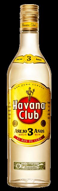 Havana Club 3yo 40% 1l + ROZVOZ PRAHA ZDARMA