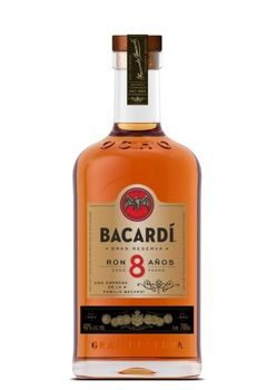 Bacardi 8 YO 40% 0,7l + ROZVOZ PRAHA ZDARMA