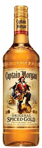 Captain Morgan Spiced 35% 1l + ROZVOZ PRAHA ZDARMA
