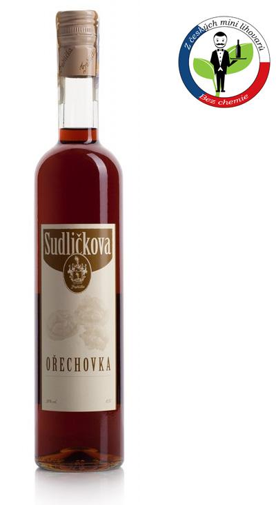 Fonticulus - Sudličkova Pálenice Sudličkova Ořechovka 0,5l 30%