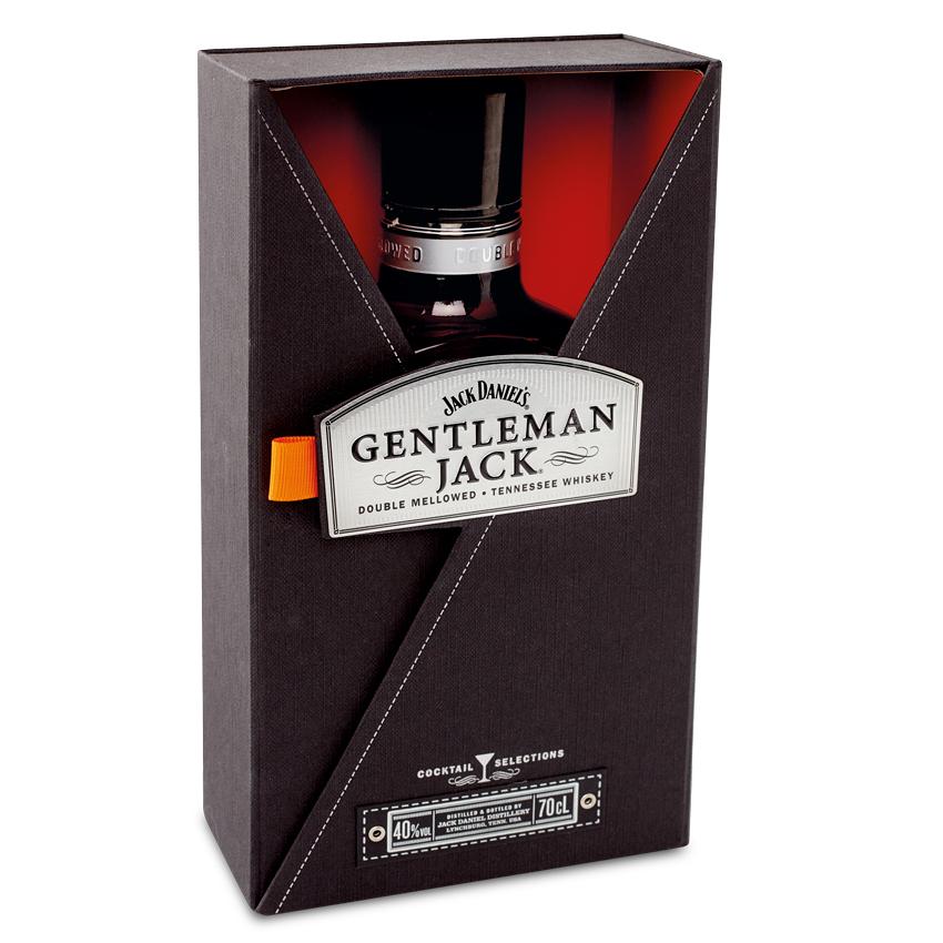 Jack Daniel's Gentleman Jack Dárkové balení 40% 0,7l + ROZVOZ PRAHA ZDARMA