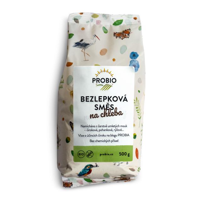 PRO-BIO, obchodní společnost s r.o. Bezlepková směs na chleba PROBIO BIO 500 g