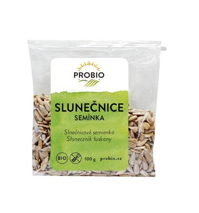 PRO-BIO obchod.spol. s r.o. Slunečnicová semena BIO (loupaná) 100 g