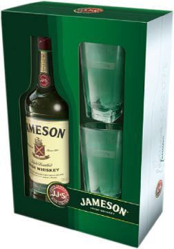 Jameson 40% 0,7l + 2x sklenka