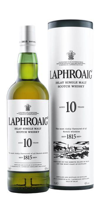 Laphroaig 10 YO 40% 0,7l + ROZVOZ PRAHA ZDARMA