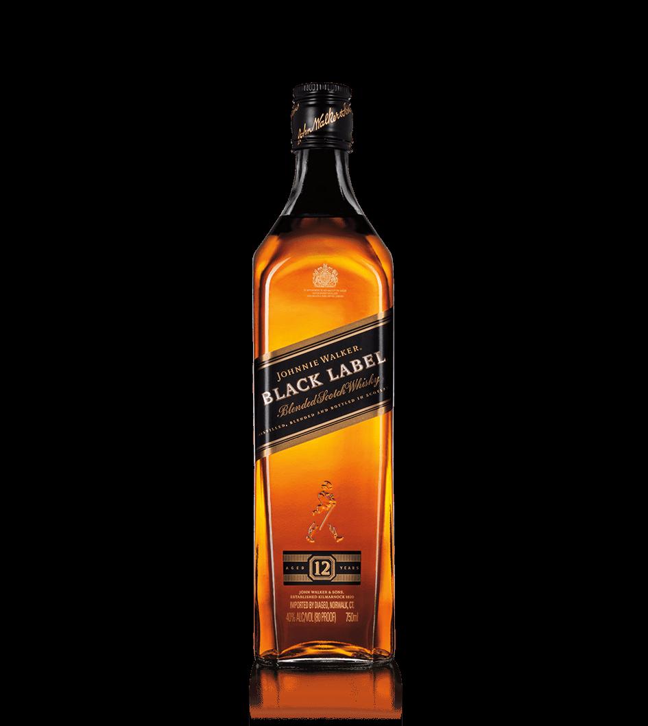 Johnnie Walker Black Label 40% 1l + ROZVOZ PRAHA ZDARMA