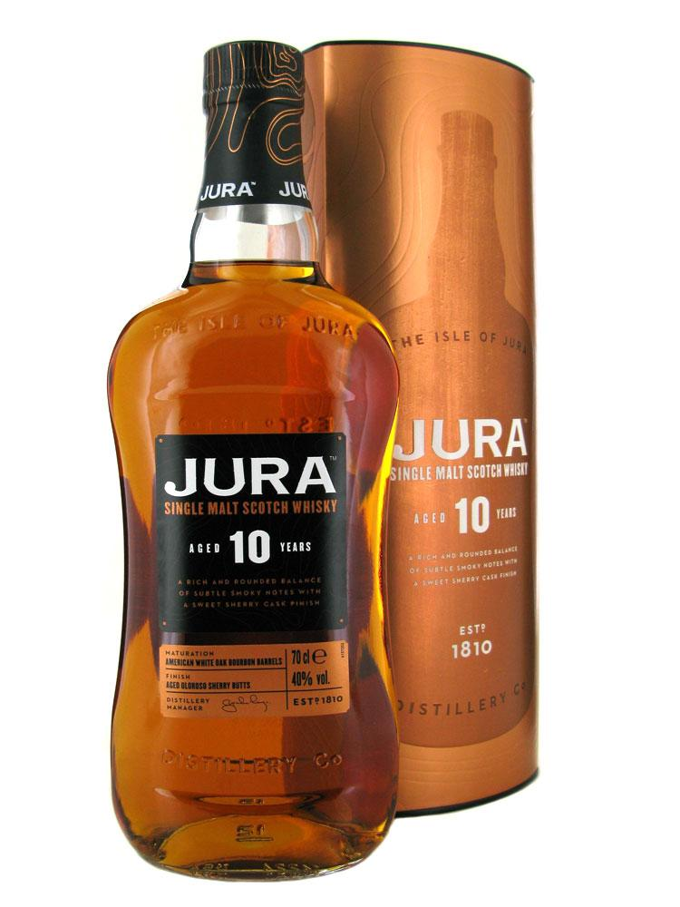 Isle of Jura whisky 10y 40% 0,7l