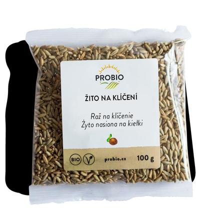 PRO-BIO, obchodní společnost s r.o. Žito na klíčení 100 g BIO PROBIO
