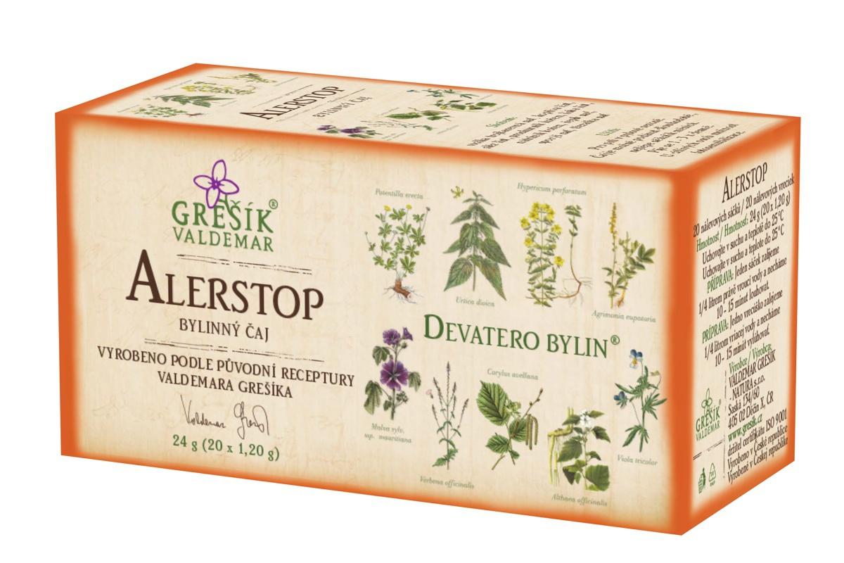 Levně Alergin bylinný čaj 20x1,20 g