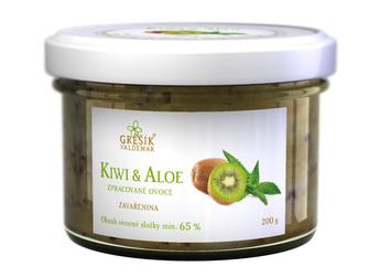Valdemar Grešík Džem Kiwi & Aloe