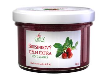Valdemar Grešík Brusinkový džem extra méně sladký