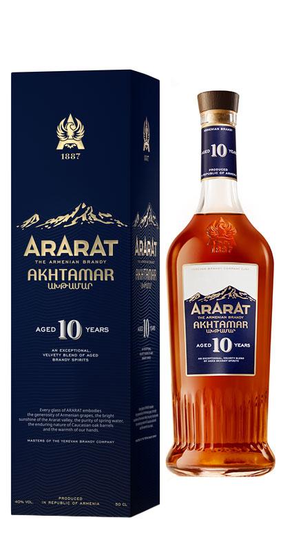 Ararat 10yo 40% 0,7l+ROZVOZ PRAHA ZDARMA