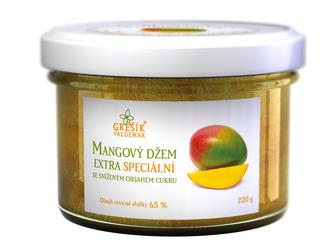 Valdemar Grešík Džem Mangový extra speciální 220 g