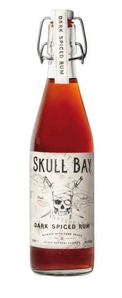 Skull Bay Dark Spiced Rum 37,5% 0,5l
