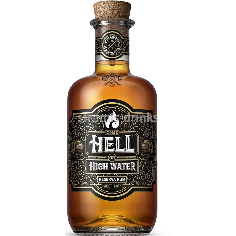 Ron de Jeremy Hell or High Water Reserve Rum 40% 0,7l