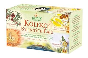 Kolekce bylinných čajů Grešík